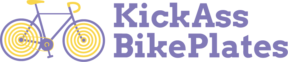 Kick Ass Bike Plates